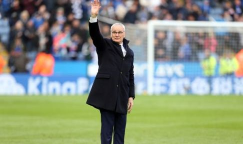 Leicester dismiss Ranieri