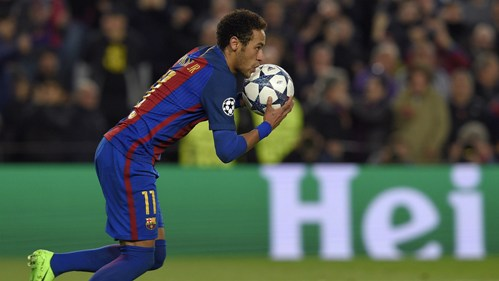 Neymar leads the victory