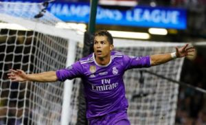 Cristiano exhibits gallons in the Real Madrid of the future